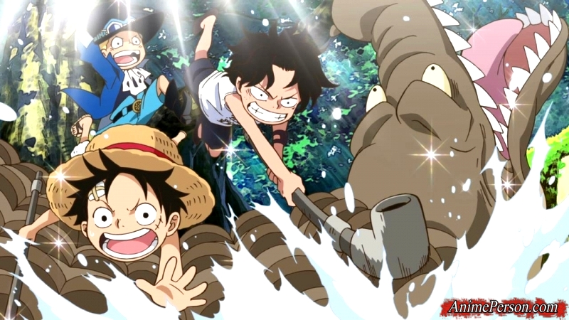 One Piece - Episode of Sabo: The Three Brothers' Bond - The Miraculous Reunion and the Inherited Will