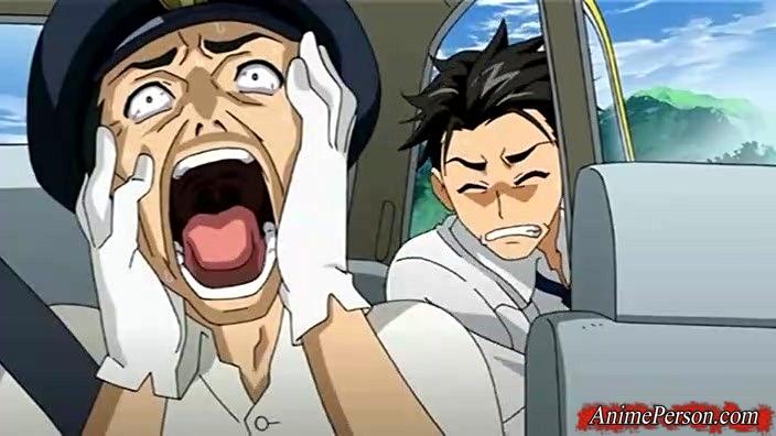 Taxi driver anime